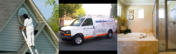 Request Service from Handyman Network